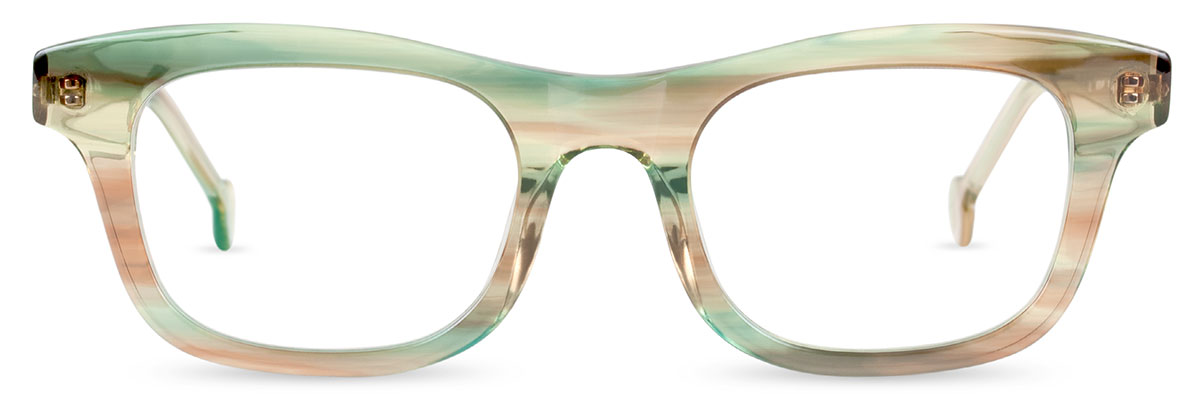8a1e3667a44 PRIMA s pronounced shaping and gentle curve to the brow create the perfect  platform for energizing colors and patterns.