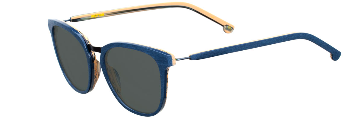 PEDAL - sun - Denim Wood & Dark Blue