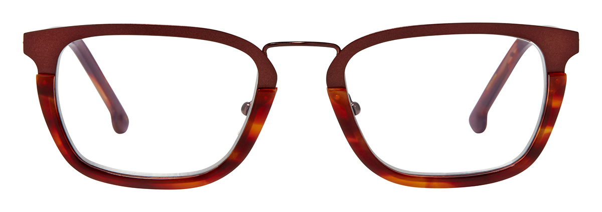 Dark Brown with Vineyard Tortoise